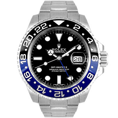 ROLEX 勞力士 GMT  116710 BLNR 蠔式恆動藍黑圈水鬼- 40 mm