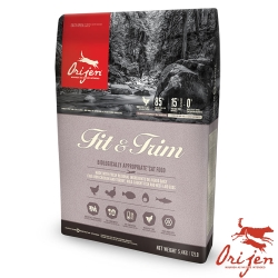 【Orijen 渴望】低鎂 室內貓野牧鮮雞無穀天然糧 5.45公斤 X1 包