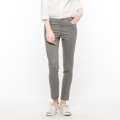 Hang Ten - 女裝 - 完美修身褲系列-彩色色褲-灰 @ Y!購物