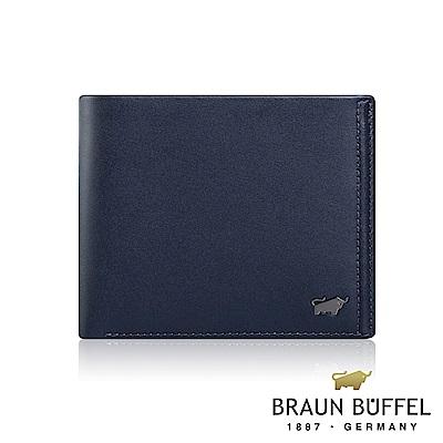 BRAUN BUFFEL -ANDRO 安卓系列12卡加大款皮夾 - 海軍藍