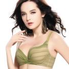思薇爾 愛現GIRL系列B-E罩內衣(時尚綠)