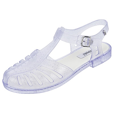MELISSA 1979年經典果凍鞋-透明白
