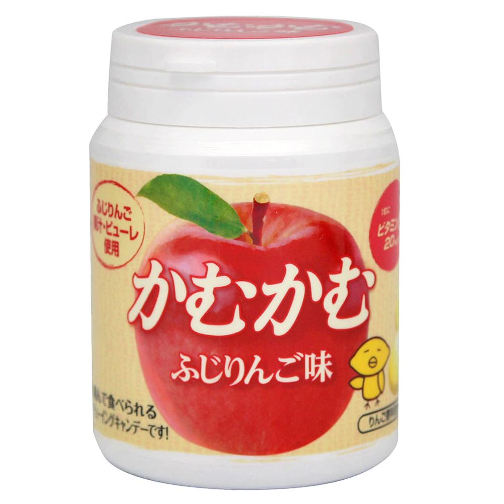 明治 Camu糖-富士蘋果-罐裝(35g)