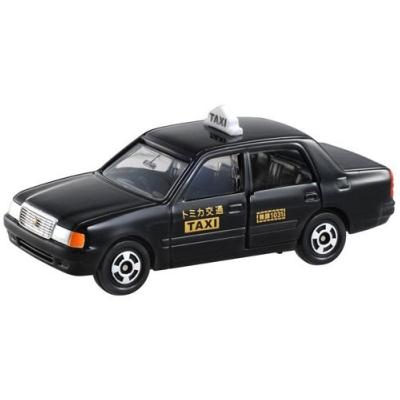 任選 TOMICA NO.051 豐田黑色計程車_TM051A 多美小汽車