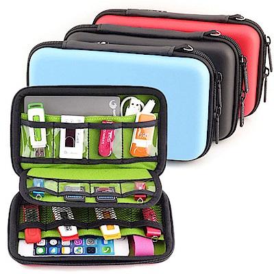 3C相關用品3C隨身包移動電源硬碟保護套手機耳機包收納包U45一入