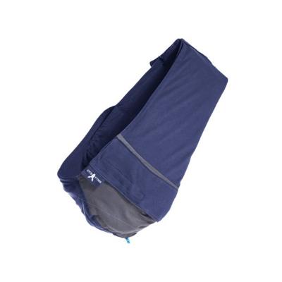 Wallaboo酷媽袋鼠背巾 - 雙色系/星空藍灰-單一尺寸