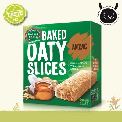 壽滿趣 紐西蘭Mother Earth烘培燕麥棒-澳紐軍團餅乾(240g)