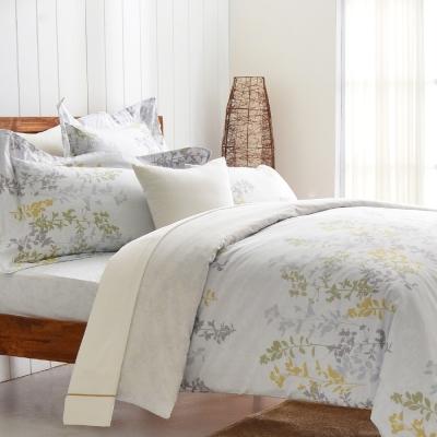 Cozy inn 雨露 加大四件組 200織精梳棉兩用被床包組
