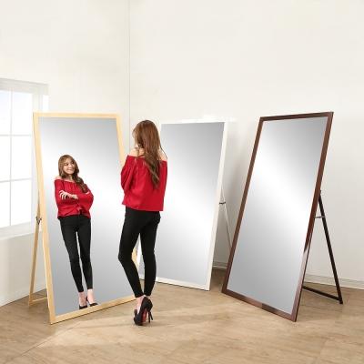 BuyJM豪華立掛兩用實木穿衣鏡/壁鏡寬90高180公分-免組