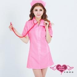 護士服 療癒天使 護士 角色扮演服(粉F)AngelHoney天使霓裳