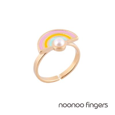 Noonoo Fingers Noobow Noo彩虹戒指