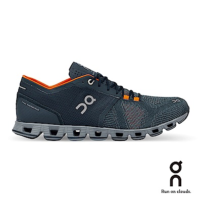 ON 瑞士雲端科技跑鞋-輕量雲X 男款 風暴青