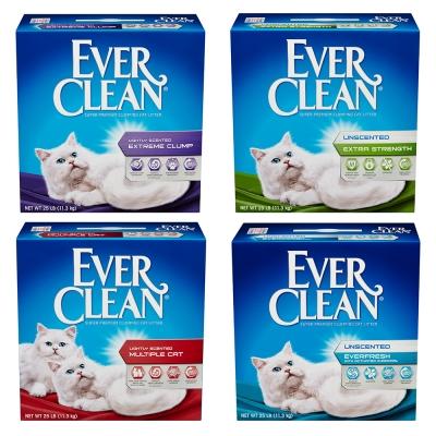 EVER CLEAN藍鑽超凝結貓砂25LB【單盒入】