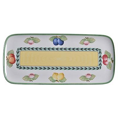 德國Villeroy&Boch 唯寶 法國田園系列長形餐盤35x16cm
