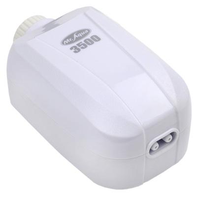 《Mr.Aqua》雙孔3500型密閉式節能省電靜音打氣馬達(送矽膠軟管)