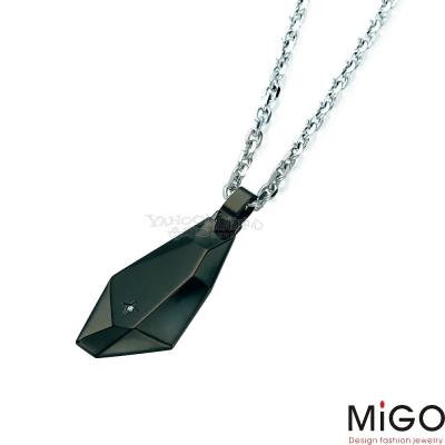 MiGO-愛的焦點男墜(黑)