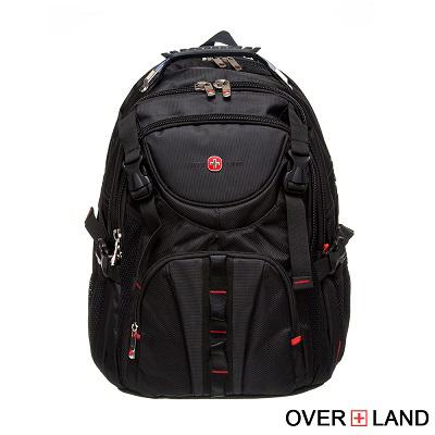 OVERLAND-美式十字軍x率性雙拉鍊後背包