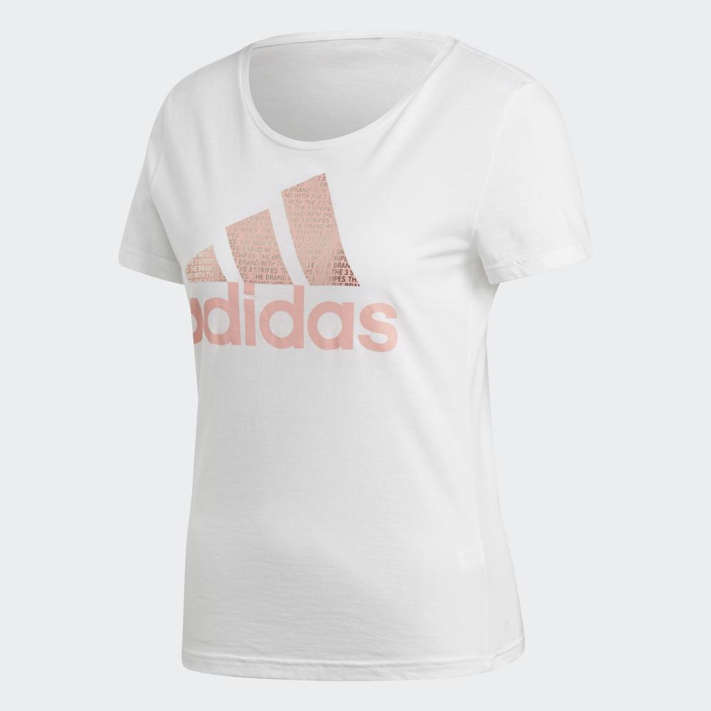 adidas Logo短袖上衣女CV4562