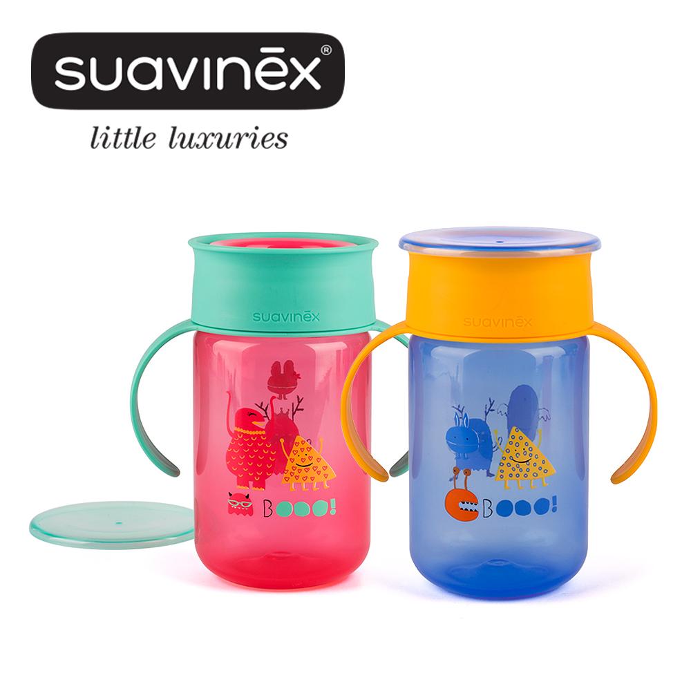 奇哥 suavinex 小怪獸360度水杯+12M (2色選擇)