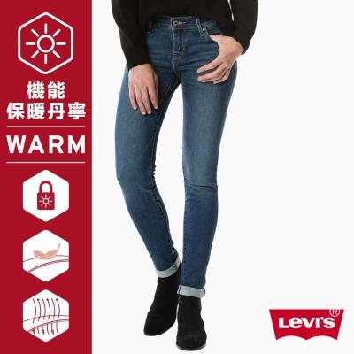 Levis 女款 711中腰緊身窄管牛仔長褲 亞洲版型 WarmJeans
