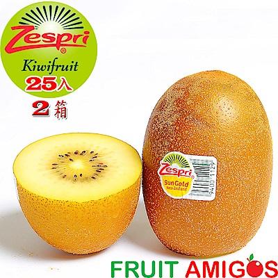 愛蜜果~紐西蘭黃金奇異果25入X2箱(原裝箱)