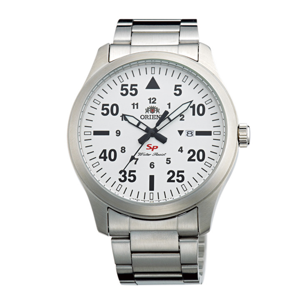 ORIENT 當代時尚飛行運動腕錶(FUNG2002W0)-白/41mm