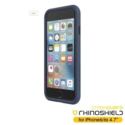 RHINO-SHIELD犀牛盾-iPhone6-S-4-7吋科技材質耐衝擊邊框殼-深藍