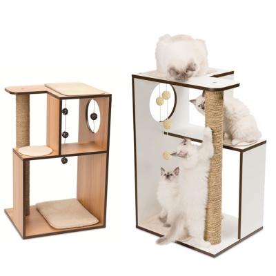 赫根Hagen Vesper貓用實木家具《遊戲雅座》