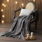 MONTAGUT-針織毛線毯(灰)