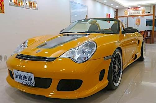 2001年 Gemballa Roadster GTR550