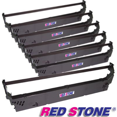 RED STONE for UNISYS EF2810黑色色帶組(1組6入)