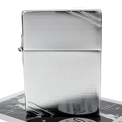 ZIPPO美系-1935復刻版-拉絲打磨鍍鉻打火機
