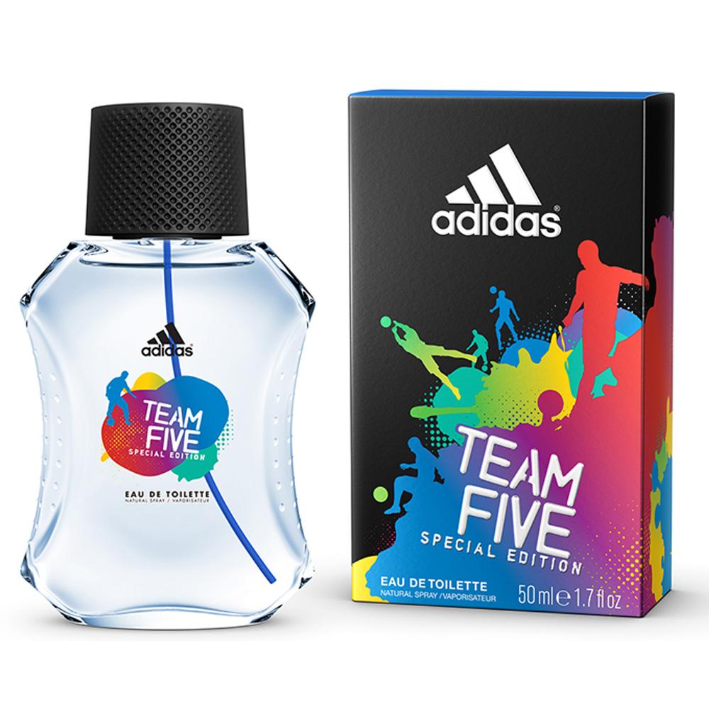 Adidas 愛迪達 五人團隊男性淡香水100ml