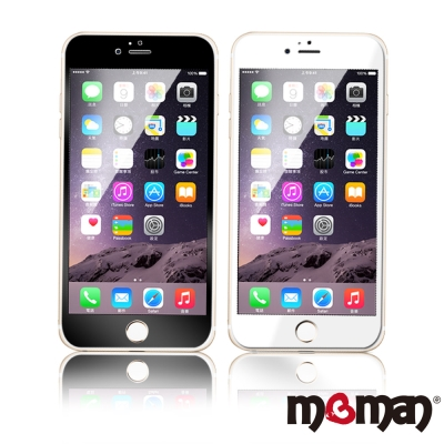 Mgman-iphone 6 plus / 6s plus 9H 彩色滿版印刷玻...