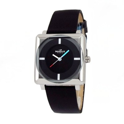 MORRIS K 時尚SHOW潮流情深錶款-黑