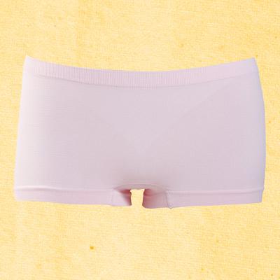 #【華歌爾】生物能健康系列M-LL中低腰無縫褲(甜莓粉紅)
