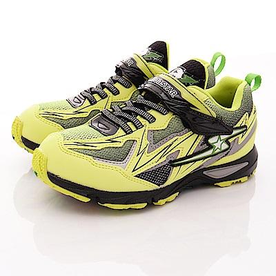 日本月星頂級競速童鞋 閃電衝刺系列 7437 萊姆 (中大童段)T1