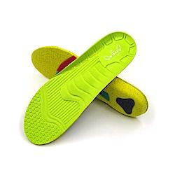糊塗鞋匠 優質鞋材 C162 PU泡棉運動足弓支撐鞋墊-1雙