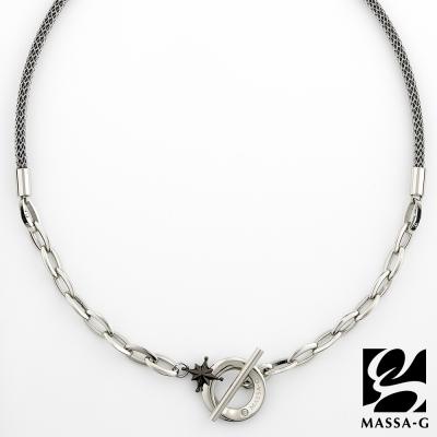MASSA~G TitanX~北極星戀曲~黑~超合金鍺鈦項鍊