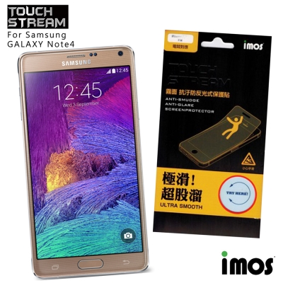 iMos Touch Stream Samsung GALAXY Note4 霧面保護貼