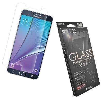Metal-Slim 三星 Galaxy Note5 9H弧邊耐磨防指紋鋼化玻璃...