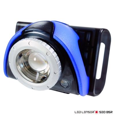 德國 LED LENSER SEO B5R 專業充電式自行車燈(藍)