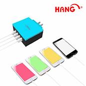 HANG 4孔USB充電頭