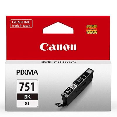 Canon CLI-751XL BK 原廠相片黑色高容量墨水匣
