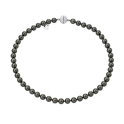 Majorica西班牙珠寶 魅力黑珍珠項鍊