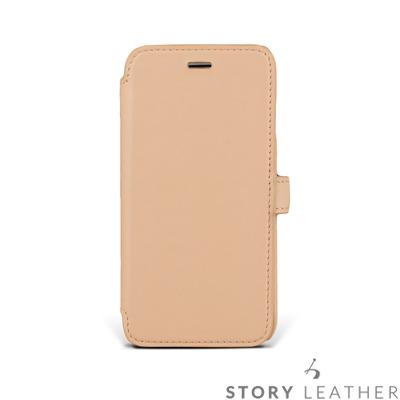 APPLE iPhone 6 / 6S (4.7吋) 硬殼式側翻 客製化皮套