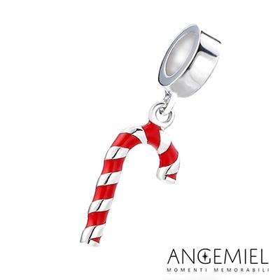Angemiel安婕米 925純銀吊墜 聖誕枴杖