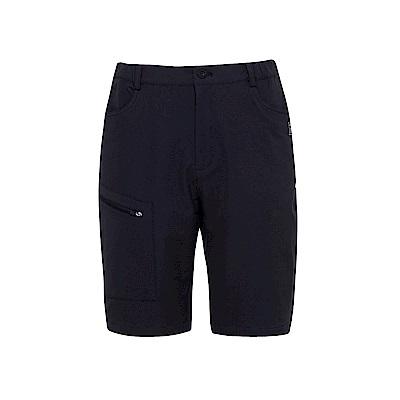 FILA 男超潑水平織短褲-黑 1SHS-1309-BK