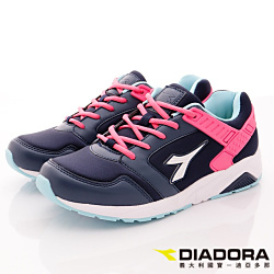 DIADORA-乳膠潮流慢跑鞋款-CTH817紫桃(女段)
