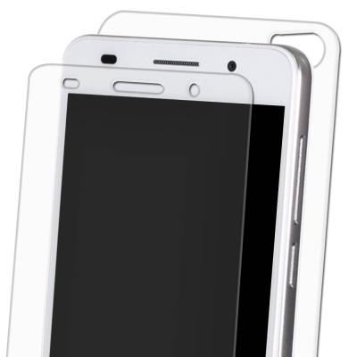 正反雙膜防護 華為 HUAWEI 榮耀 6 Plus 5.5吋 鋼化玻璃膜 螢幕...
